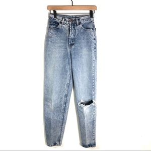Vintage Brittania Womens Jeans High Waisted 80s